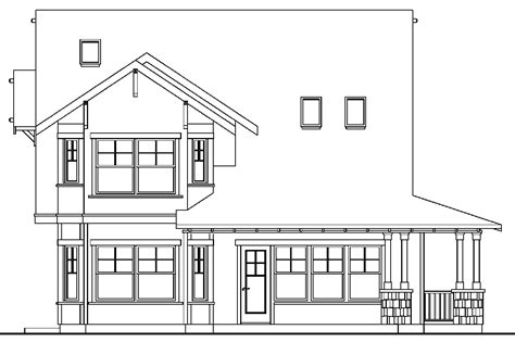 house plans with detached garage in back craftsman house plans mapleton 30 506 associated designs