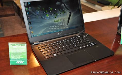 Second Laptop Acer I7 acer officially launched aspire s5 i7 ultrabook