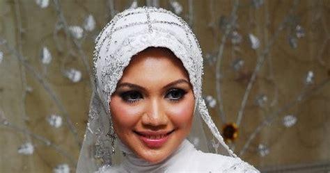 Jilbab Pengantin 10 ide jilbab pengantin tutorial