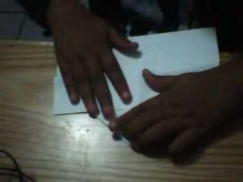 como hacer un pico con papel como hacer un pico de papel origami youtube
