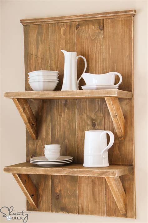 pdf diy free wood shelves projects simple bread