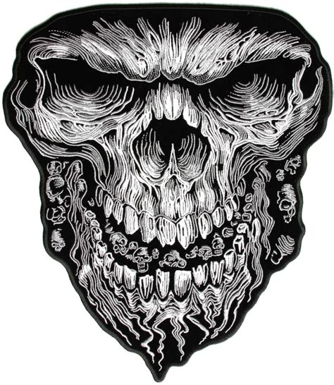 large vibration skull patch