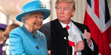 queen elizabeth donald trump donald trump s meeting with the queen will be very very