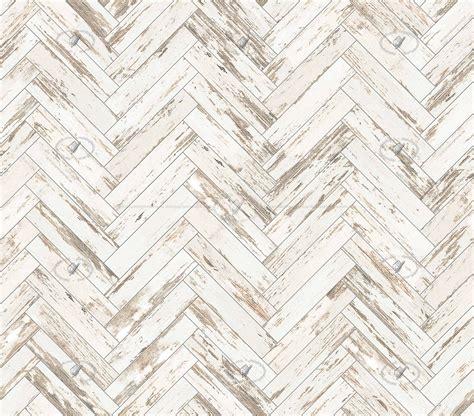 Worn white parquet texture seamless 21195