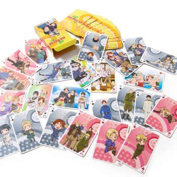 Axis Gift Card - hetalia axis powers playing cards