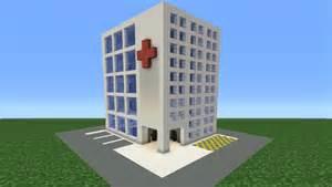 minecraft tutorial how to make a hospital
