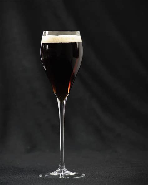 black cocktail black velvet cocktail recipe dishmaps