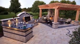 custom outdoor living spaces outdoor patio designs klein landscaping gardening ideas