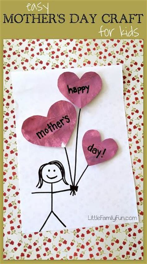 simple mothers day crafts for easy mothers day craft for so s day