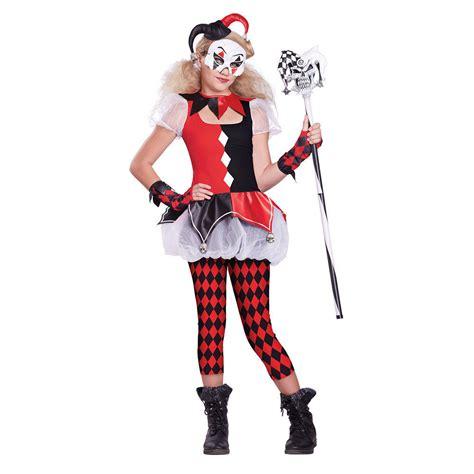 ebay halloween costumes girls dark jester halloween costume ebay