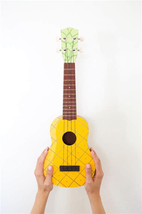 ukulele design instagram diy painted pineapple ukulele 187 lovely indeed