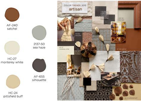 benjamin releases color trends for 2013 fend interiors