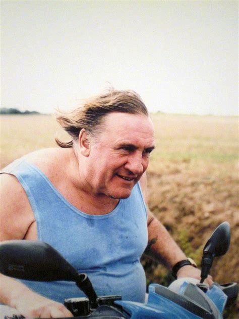 gerard depardieu young visual leader 2011 don t lead me astray in the magazine