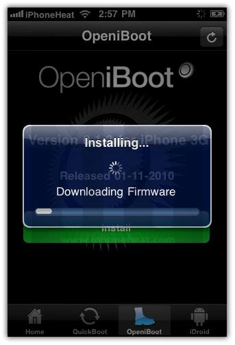 install android on iphone how to install android 2 2 1 froyo on iphone 3g 2g with bootlace