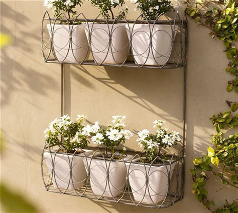 Wire Wall Planter by Outdoor Decor Wire Wall Mount Planter