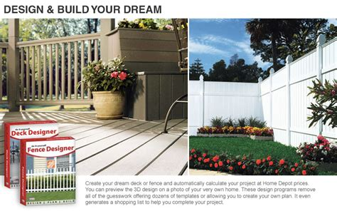 fence design software home depot plans diy free