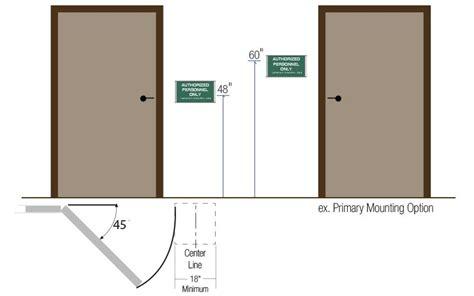 Handicap Bathroom Sign Location Door Signage Height Adafirstpicture Jpg Quot Quot Sc Quot 1 Quot St Quot Quot Natso