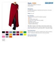Black Light Blanket Gildan 12900 Gildan Dryblend Fleece Stadium Blanket 10