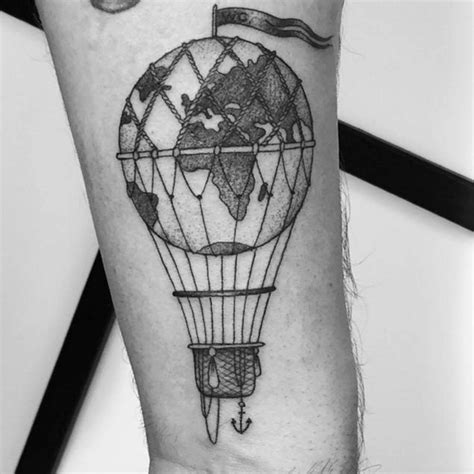 hot air balloon tattoo designs 48 air balloon designs tattooblend