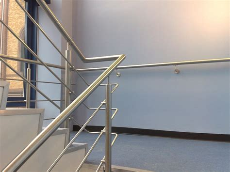stainless steel banister rail j j donovan son ltd gallery