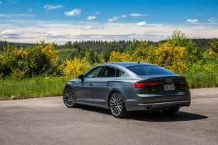 Audi Q5 Sportback 2018 Audi A5 S5 Sportback Drive Review