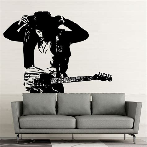 Springsteen Wall bruce springsteen vinyl wall decal