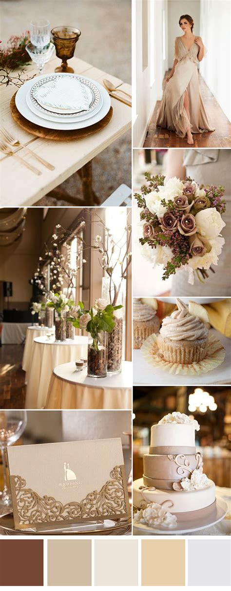 neutral wedding colors six gorgeous neutral wedding color combos to inspire you
