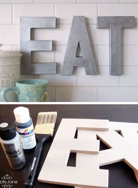 Diy Kitchen Decorating Ideas 10 Clever And Inexpensive Diy Projects For Home Decor Diy Crafts You Home Design