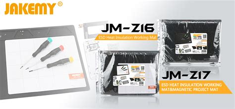 Jakemy Esd Heat Insulation Working Mat With Magnetic Jm Z17 jakemy esd heat insulation working mat with magnetic project mat jm z17 jakartanotebook