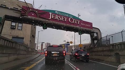 Jersey City New driving from chinatown manhattan new york to jersey city