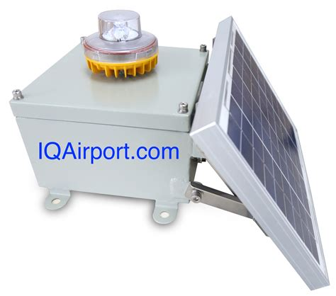 led aviation obstruction light solar obstruction lights faa approved