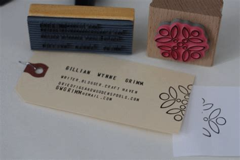 Handmade Card Business - handmade business card designs creatives wall