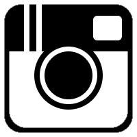 black instagram icon free black social icons free instagram icon to create social media buttons using