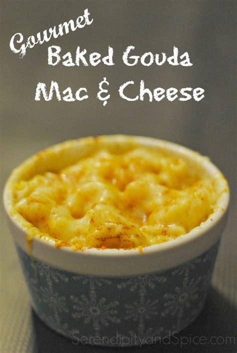 gourmet mac and cheese recipe gourmet baked gouda mac and cheese recipe serendipity