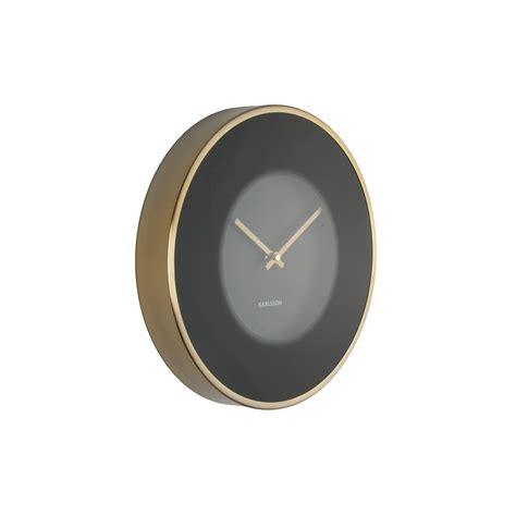 Modern Wall Clocks Uk by Modern Wall Clock In Black And Gold