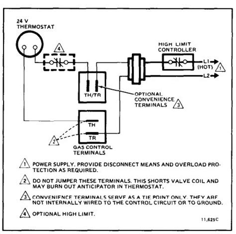gas valve for furnace wiring thermostat valve free