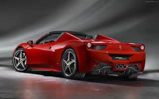 458 spider 2012 widescreen car wallpapers