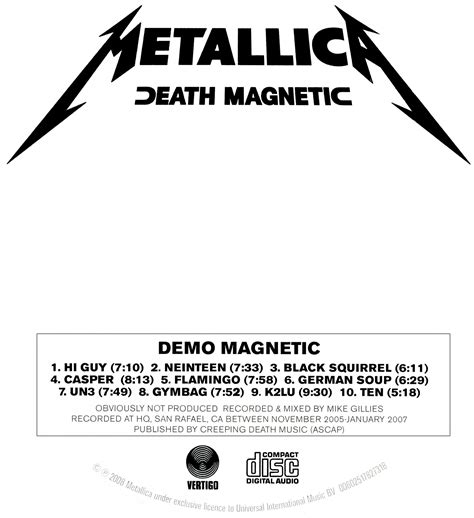 metallica dafont metallica demo magnetic forum dafont