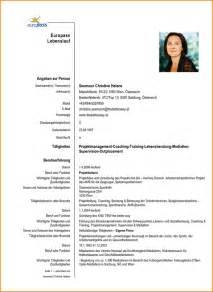 Aufbau Lebenslauf Deutschland 5 Lebenslauf Questionnaire Templated