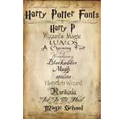 Harry Potter Font On Pinterest  Craft