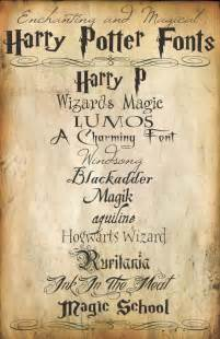Harry potter font on pinterest