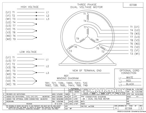 help reading motor wiring diagram