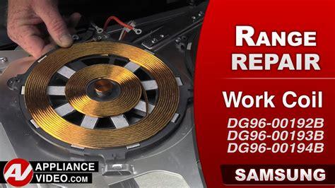induction stove repair samsung induction range ne595n0pbsr appliance