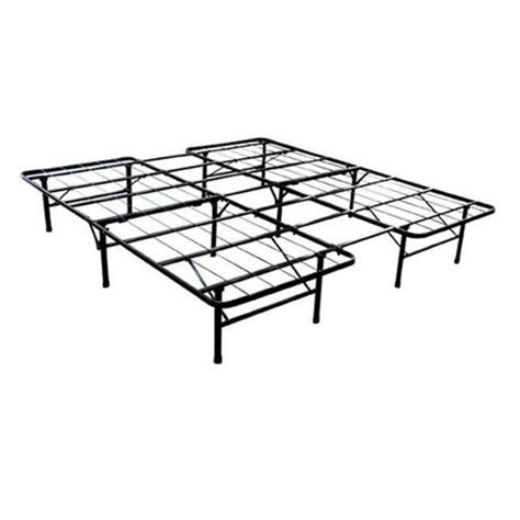 walmart metal bed frame smartbase twin full size steel bed frame walmart ca