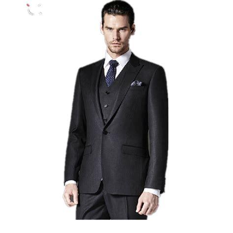 Blazer Zipper Black Resleting Pakaian Pria Slimfit Cowok Baru tinggi end jas pengantin desain terbaru custom made pengantin pria jas pernikahan pria pakaian