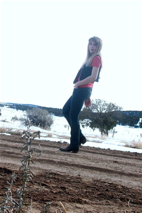 ralph ts shirts brown cowboy boots blue