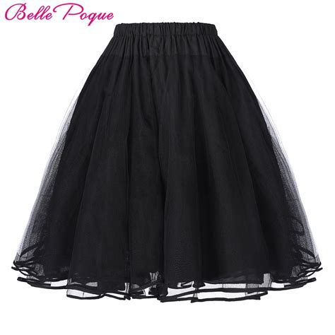 swing petticoat tulle skirts rockabilly swing petticoat underskirt women