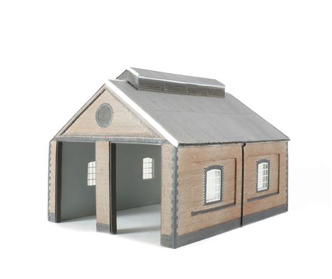 Oo Engine Shed by Hattons Co Uk Bachmann Branchline 44 0001 2 Road Brick