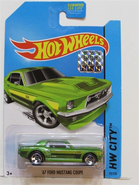Wheels Hotwheels 67 Custom Mustang wheels 2014 hw city 67 custom mustang green factory