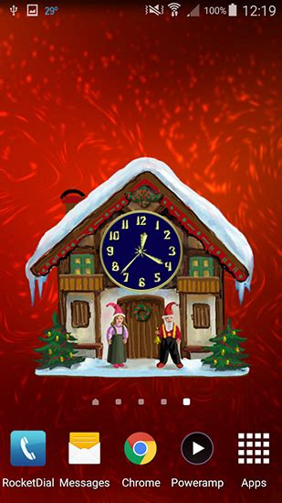 telecharger themes clock dreamery clock christmas pour android 224 t 233 l 233 charger